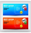 sale backgrounds Banners set vector image