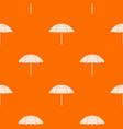 beach umbrella pattern seamless vector image vector image