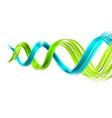dna spiral vector image