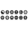 Religious Icons vector image vector image