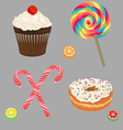 Set of sweets vector | Price: 1 Credit (USD $1)