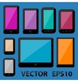 Smartphones and Tablets vector image vector image