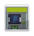 atm icon image vector image