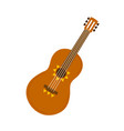 classic acoustic guitar four-string musical vector image
