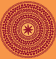 indian spices pattern vector image