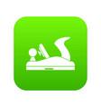 jack plane icon digital green vector image vector image