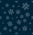seamless winter texture winter background vector image vector image