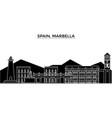 Spain marbella architecture city skyline
