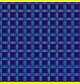 squares in grid geometric seamless pattern 611 vector image vector image