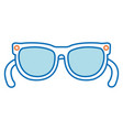 sunglasses summer isolated icon vector image