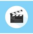 Clapboard Video Cinema Movie Studio Equipment Pro vector image