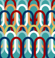 Colorful oval pattern abstract background vector image vector image