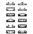 different types bridges vector image vector image