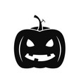 halloween pumpkin icon simple style vector image
