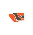 hand hold wallet for logo design vector image
