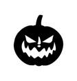 jack-o-lantern pumpkin vector image vector image