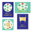 passover seder clipart vector image vector image