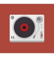 player music vinyl isolated icon vector image vector image