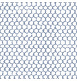 seamless pattern gray hand drawn net over the vector image