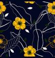vintage background wallpaper hand drawn vector image vector image