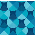 blue geometric patterns patchwork vector image vector image