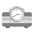 clock on the table icon image vector image