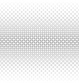 monochrome circle pattern - geometric background vector image vector image
