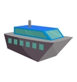 Powerboat icon cartoon style vector image vector image