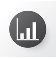 project statistics icon symbol premium quality vector image vector image