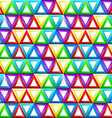 Seamless geometric pattern with triangles in vector image vector image