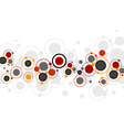 Colored Circles Pattern vector image
