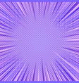 comic abstract purple background vector image