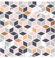 marble texture seamless pattern design with cubes