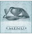 restaurant card vector image vector image