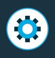 setting icon colored symbol premium quality vector image