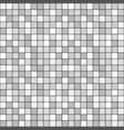 square tile with grey colors seamless pattern vector image vector image