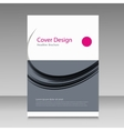 Abstract cover brochure background vector image vector image