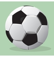 football ball realistic vector image vector image
