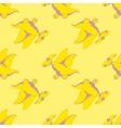 Funny flying lizard vector image vector image