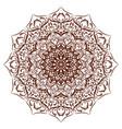 mandala floral ornament vector image