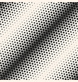 seamless pattern with halftone transition effect vector image vector image