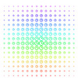 time shape halftone spectral grid vector image vector image