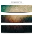 3d Technology Web Banners vector image