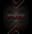 abstract 2016 background vector image