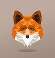 Animal Portrait With Polygonal Geometric Design vector image