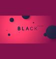 black friday big sales bright abstract vector image