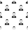 Businessman icon black Single avatarpeaople icon vector image