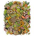 cartoon doodles japan food funny