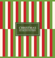 christmas seamless colorful striped pattern vector image