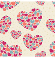 Cute Valentine love seamless pattern